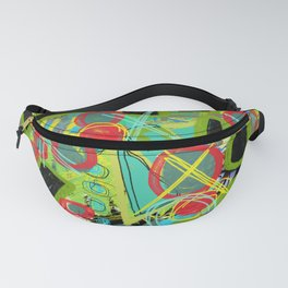 Geometric Explosion 1 Fanny Pack