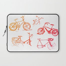 summer bikes Laptop Sleeve