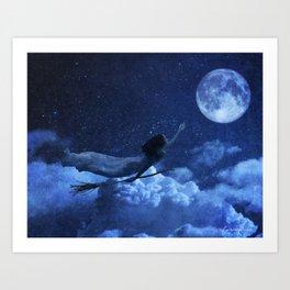 Daughter of Luna Art Print