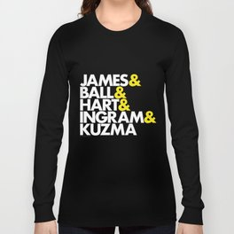 Lakers Lineup: LeBron & Young Core Long Sleeve T-shirt