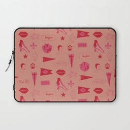 Patches - Pink + Red Laptop Sleeve