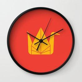 Japan Origami Wall Clock