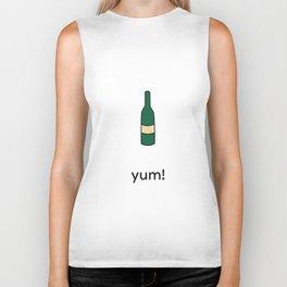 yum! wine Biker Tank
