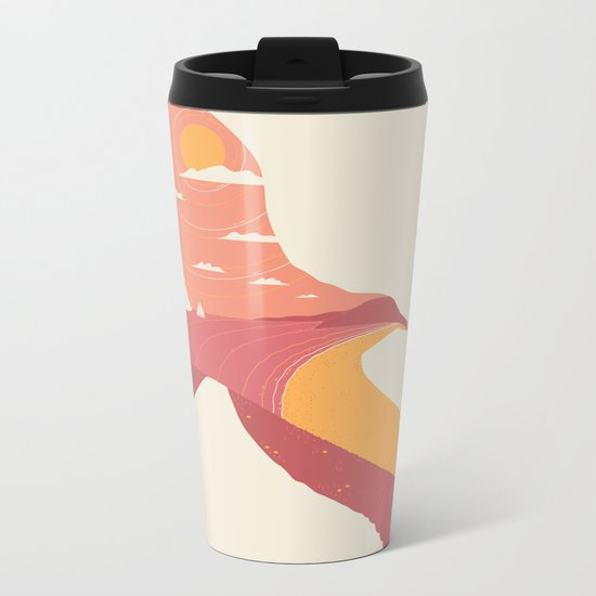 Larus Sinus Metal Travel Mug