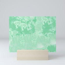 Sea Green Summer #pattern #texture Mini Art Print