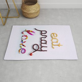 Remember Eat, Pray, Love Rug