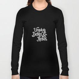 UDR white Long Sleeve T-shirt