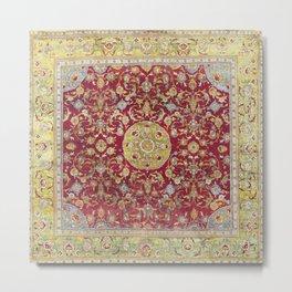 Dirksen Cairene 16th Century Egyptian Carpet Print Metal Print