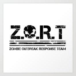 ZORT Line Art Print