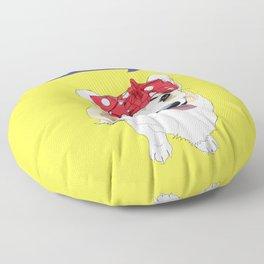 Political Pups - Register To Vote Corgi Dog Floor Pillow