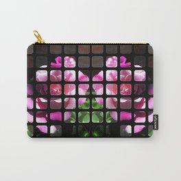 Rosas Moradas 1 Art Rectangles 1 Carry-All Pouch