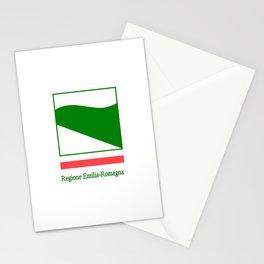 flag of Emilia romagna Stationery Cards