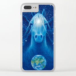 EarthWatcher Clear iPhone Case