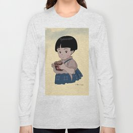 Grave of the Fireflies (Hotaru no haka) Long Sleeve T-shirt