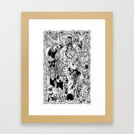 ILLUMINATOR Framed Art Print