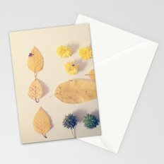 Yellow Autumn Collection Stationery Cards