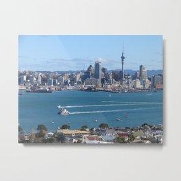 Auckland Metal Print