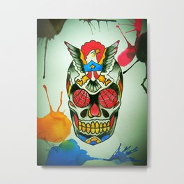 TJ Johnson Memorial Tattoo Piece Metal Print
