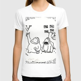 Ape Disrupts Accepted Stone-Carving Practices T-shirt