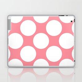 Polka Dots Pink Laptop & iPad Skin