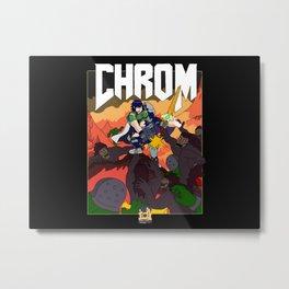ChroM Metal Print