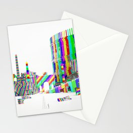 Color-Block Capriccio Stationery Cards