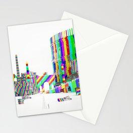 Color-Block Capriccio Stationery Cards