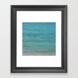 Maui: Aqua Framed Art Print
