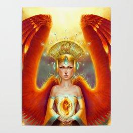 Phoenix Queen Poster