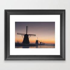Dutch Dawn Framed Art Print