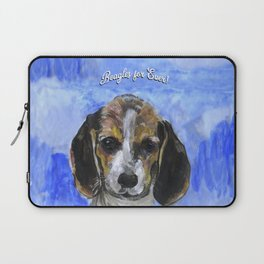 Beagles For Ever Laptop Sleeve