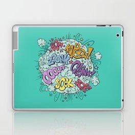 comic brawl Laptop & iPad Skin