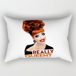 """Really, Queen?"" Bianca Del Rio, RuPaul's Drag Race Queen Rectangular Pillow"