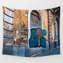 SICILIAN FACADE in CATANIA Wall Tapestry