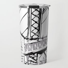 Manhattan Bridge - cityview landscape Travel Mug