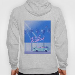 Relax (Blue) Hoody