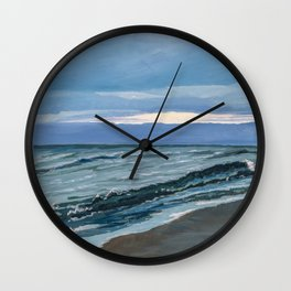 Lost Sunset Wall Clock