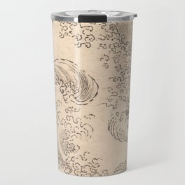 Wave by Katsushika Hokusai 1760–1849, Japanese Travel Mug