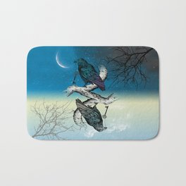 Raven's Key Night+Day Bath Mat