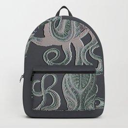 VINTAGE OCTOPUS Negative Grey Backpack