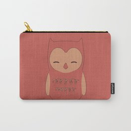 Owl illustration minimalist Carry-All Pouch