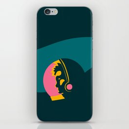 Astronauts need personal space too iPhone Skin