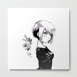 Sketch 001 20170216 Metal Print