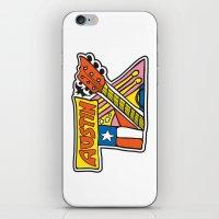 austin iPhone & iPod Skins featuring Austin TX by Brandon Ortwein