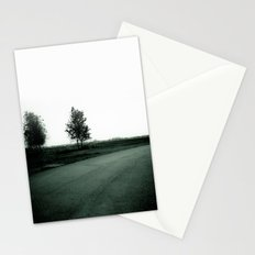 Blurry Trees Stationery Cards