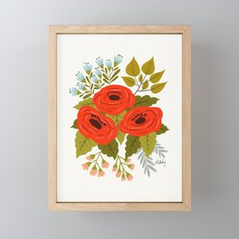 I and Love and You Framed Mini Art Print
