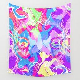 Art Face Wall Tapestry