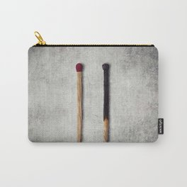 two matches closeup Carry-All Pouch