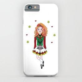 Irish Dancing Girl iPhone Case
