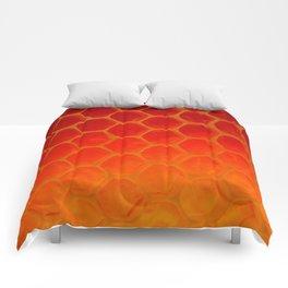 Honeycomb Gold - The Bee's Gift Comforters